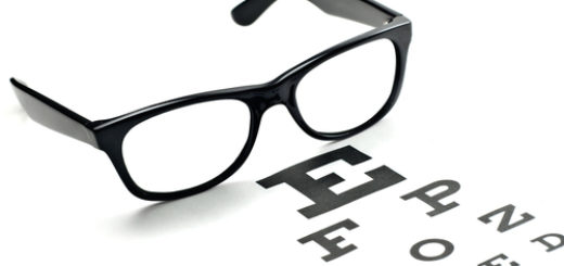 Glasses and Visual Screening Chart