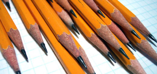 Pencils and paper