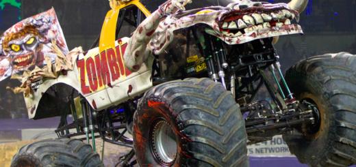 Monster Jam Zombie Truck