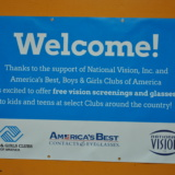 Sign at BGCA screening event