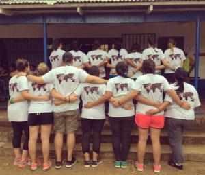 Volunteers in Nicaragua