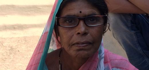 A seamstress in India