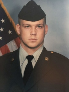 Mike Shultz in the Army