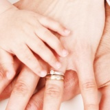 Picture of a family's hand