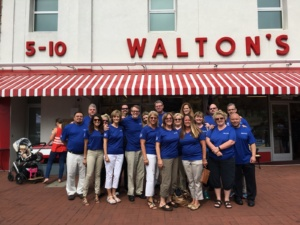 National Vision team at the Walmart Shareholders Meeting
