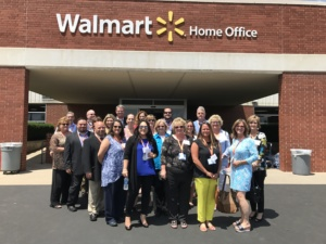 National Vision team at Walmart Shareholders Meeting