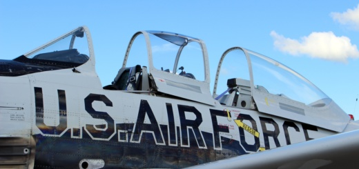 Vintage Air Force Plane