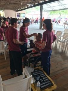 Honduras SVOSH Volunteer With Man