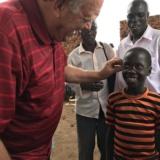 Man with boy in Uganda