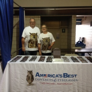Gail and Dudley at the Stand Down Event