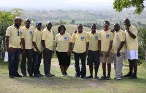 Group of volunteers in Haiti