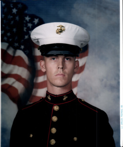 Jason in the Marine Corps